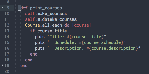 Sample of Bracket Highlighter Package in Sublime